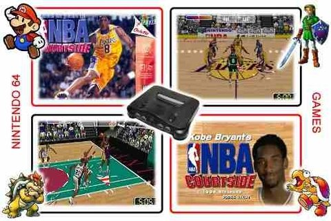 Nba Courtside Nintendo 64 Original N64 - Radugui Store