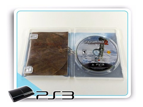 Uncharted 2 Among Thieves Original Playstation 3 PS3 - comprar online