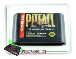 Pitfall The Mayan Adventure Original Mega Drive / Genesis