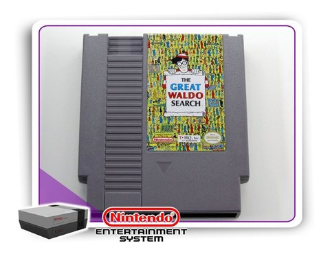 The Great Waldo Search Original Nintendinho Nes 8-bits