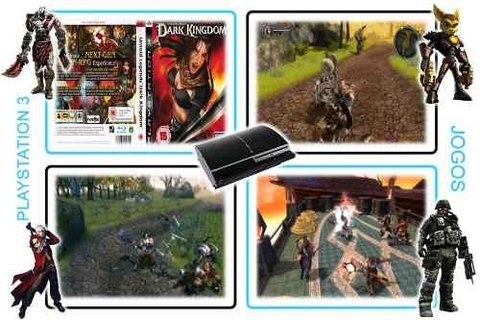 Dark Kingdom Playstation 3 Original PS3 - loja online