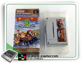 Donkey Kong Country 3 Original Super Famicom Sfc Completo
