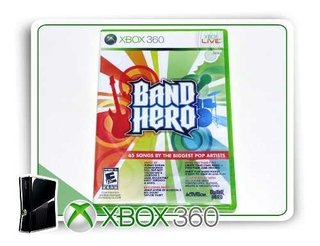 Band Hero Original Xbox 360 - Mídia Física
