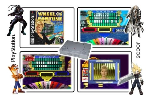 Wheel Of Fortune Original Ps1 Playstation 1 - loja online