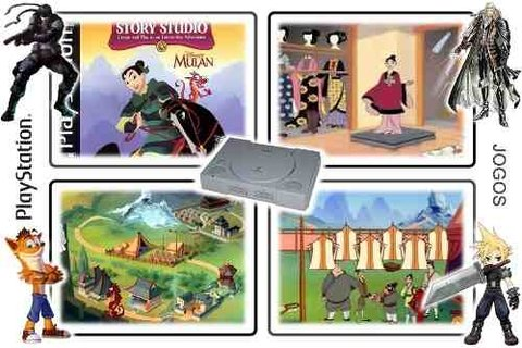 Mulan Original Playstation 1 PS1 - Radugui Store