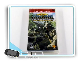 Socom Us Navy F Bravo Original Playstation Portable Psp Novo
