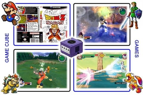 Dragon Ball Z Sagas Original Nintendo Gamecube - Radugui Store