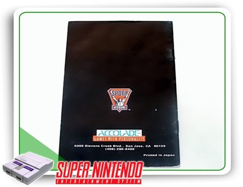 Manual Barkley Shut Up And Jam Original Snes Super Nintendo - comprar online