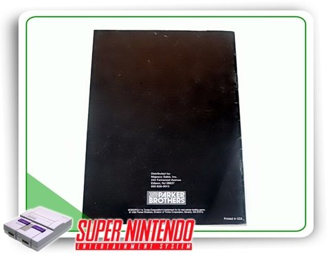 Manual Monopoly Original Super Nintendo Snes - comprar online