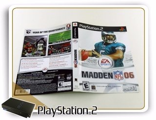 Encarte E Manual Madden Nfl 06 Original Playstation 2 Ps2