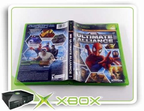 Marvel Ultimate Alliance Original Xbox Clássico Xbox - comprar online