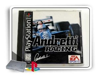 Andretti Racing Original Playstation 1 Ps1