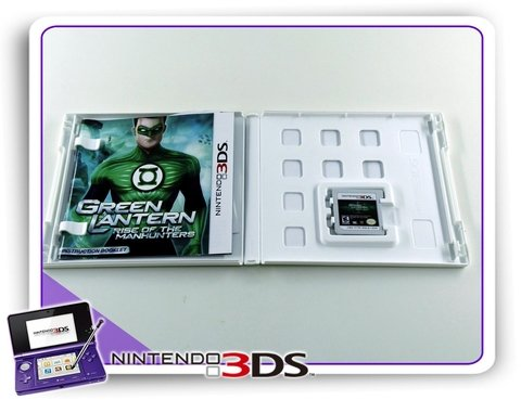 Green Lantern Rise Of The Manhunters Original Nintendo 3ds na internet