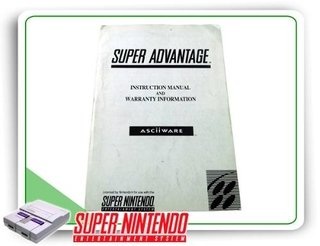 Manual Controle Super Advantage Original Super Nintendo