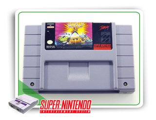 Rock N Roll Racing Original Snes Super Nintendo