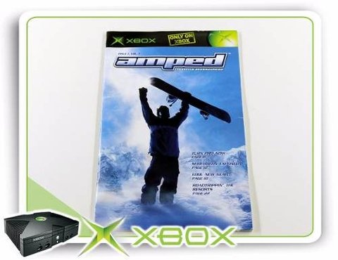 Manual Amped Original Xbox Clássico