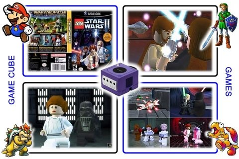 Lego Star Wars 2 The Original Trilogy Gamecube Original - loja online