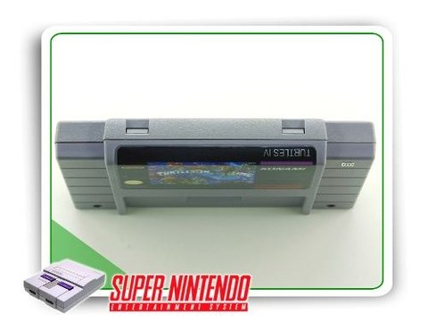 Tmnt 4 Turtles In Time Super Nintendo Snes Original - comprar online
