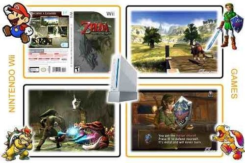 The Legend Of Zelda Twilight Princess Original Nintendo Wii - loja online