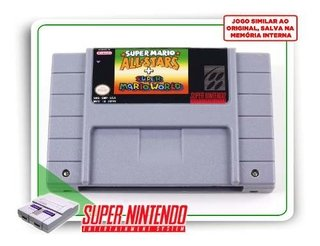 Super Mario All-stars Super Mario World Super Nintendo Novo