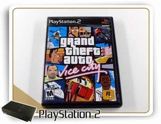 Grand Theft Auto Vice City Playstation 2 Original PS2