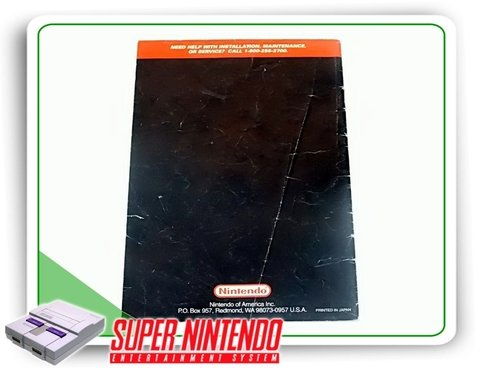 Manual Super Game Boy Snes Super Nintendo Original - comprar online