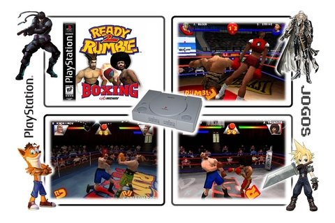 Ready 2 Rumble Boxing Original Playstation 1 Ps1 - loja online