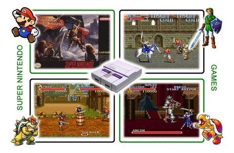 Imagem do Knights Of The Round Super Nintendo Snes - Novo
