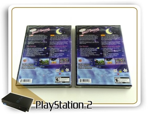 The Sweet Dreams Game Original Playstaion 2 PS2 Novo na internet