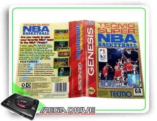 Tecmo Super Nba Basketball Original Sega Mega Drive /genesis