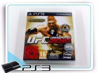 Ufc Undisputed 2010 Original Ps3 Playstation 3