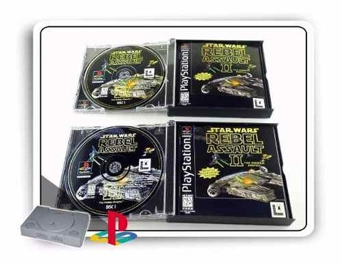 Star Wars Rebel Assault 2 Original Playstation 1 PS1 na internet