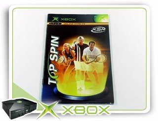 Manual Top Spin Original Xbox Clássico