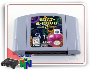 Bust A Move 2 Arcade Edition Original Nintendo 64 N64