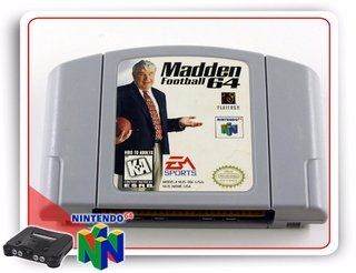 Madden Football 64 Nintendo 64 Original