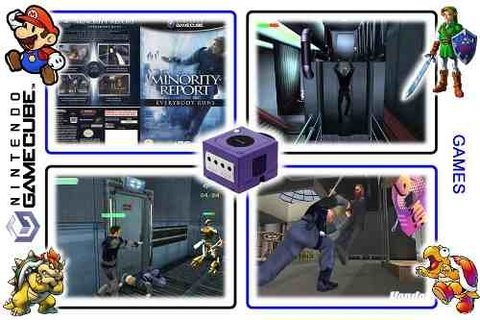 Minority Report Original Gamecube - Radugui Store