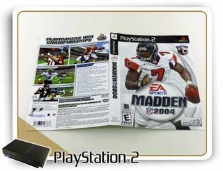 Encarte E Manual Madden Nfl 2004 Original Playstation 2 Ps2