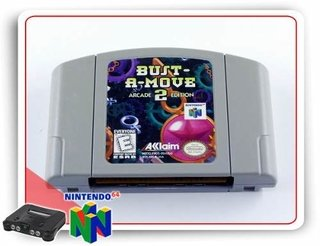 Bust A Move 2 Arcade Edition Original N64 Nintendo 64