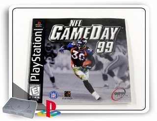 Encarte E Manual Nfl Game Day 99 Original Playstation 1