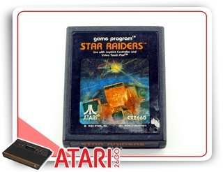 Star Raiders Cartucho Atari Original