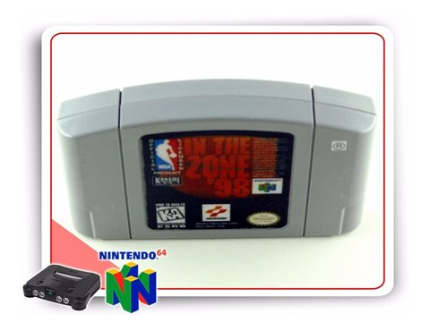Nba In The Zone 98 Original N64 Nintendo 64 na internet