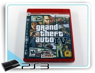 Grand Theft Auto 4 Original Playstation 3 PS3