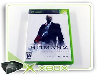 Hitman 2 Silent Assassin Original Xbox Clássico