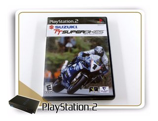 Suzuki Tt Superbikes Playstation 2 PS2 Original