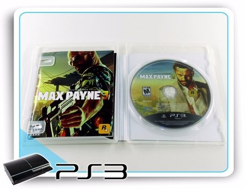 Max Payne 3 Playstation 3 Original Ps3 na internet