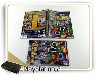 Encarte E Manual Cabelas Dungerous Hunts 2 Original Ps2