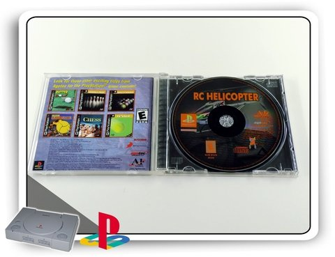 Rc Helicopter Original Playstation 1 Ps1 na internet