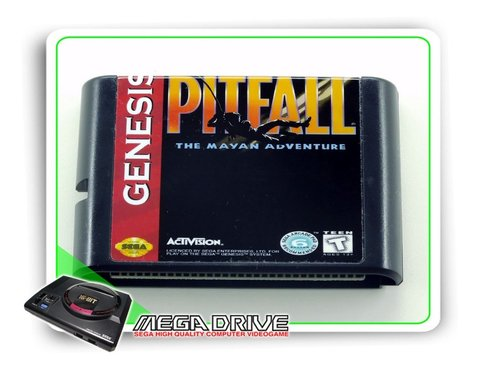 Pitfall The Mayan Adventures Sega Mega Drive - Novo