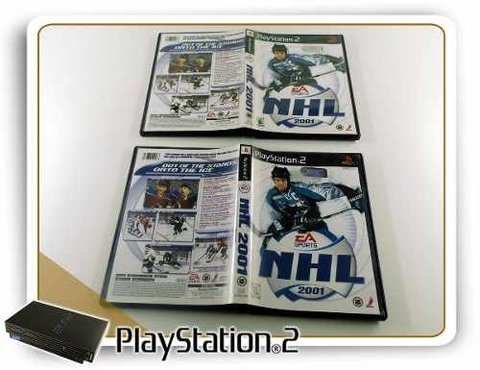 Nhl 2001 Original Playstation 2 PS2 - comprar online