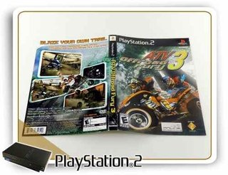 Encarte E Manual Atv Off Road Fury 3 Original Playstation 2